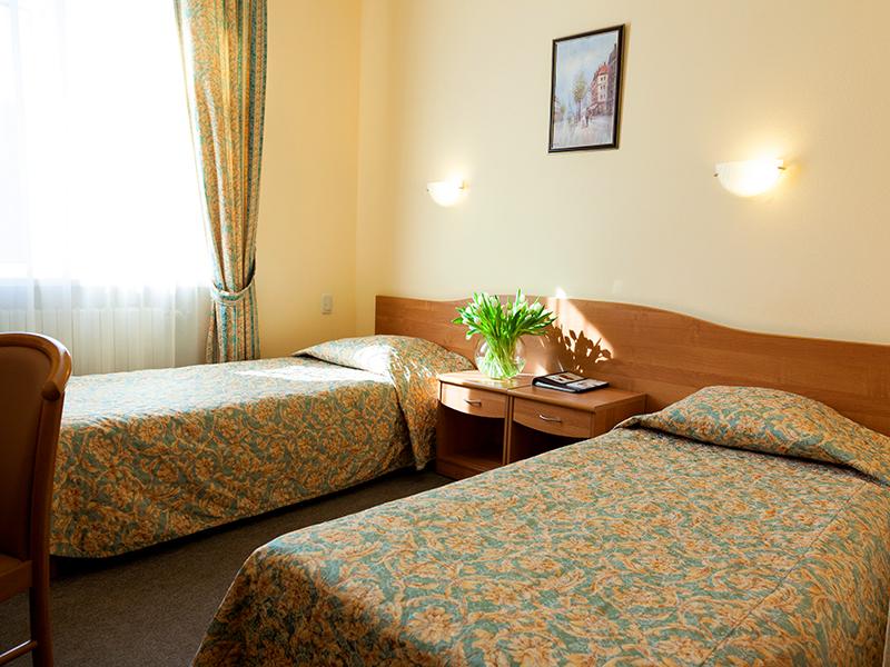 Двухместный номер в гостинице Максима Заря